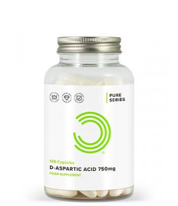 D Aspartic Acid Capsules 750mg